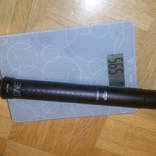 Gewicht OneUp Sattelstütze höhenverstellbar Dropper Post - V2 31,6 mm / 210 mm