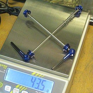 Gewicht Superstar Components Schnellspanner superfly carbon-ti 100/135
