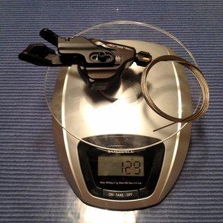Gewicht Shimano Schalthebel Saint SL-M820-B