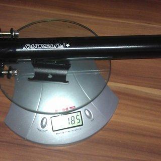 Gewicht Fun Works Sattelstütze N-Light Alloy SL 31,6 x 250mm