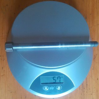 Gewicht Alutech Alles andere Fanes 2.0 Steckachse 12x135/142