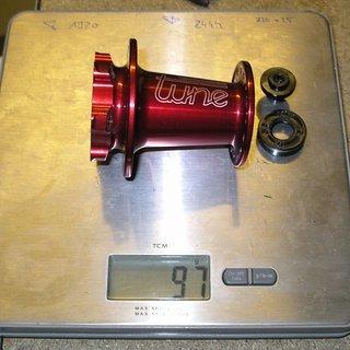 Gewicht Tune Nabe Cannonball Lefty, 32-Loch