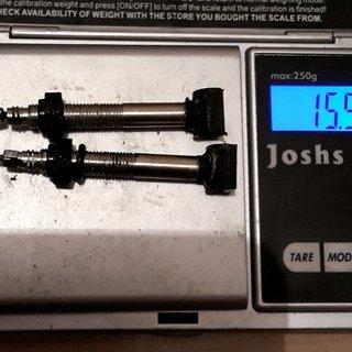Gewicht ENVE Weiteres/Unsortiertes Tublessventil std MTB XC