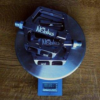 Gewicht NS-Bikes Pedale (Platform) Aerial Pro 95x95x15mm
