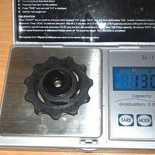 Gewicht SRAM Schaltröllchen X0 Schaltröllchen 11 Zähne
