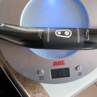 Gewicht Crank Brothers Lenker Cobalt 3 31.8mm, 700mm