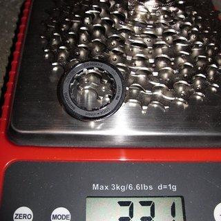 Gewicht Shimano Kassette Deore CS-HG61 9-fach, 11-32Z