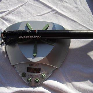 Gewicht Simplon Sattelstütze ROD V2 Carbon 31,6 x 350mm