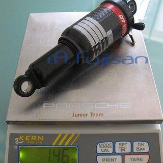 Gewicht DT Swiss Dämpfer XR Carbon 165mm