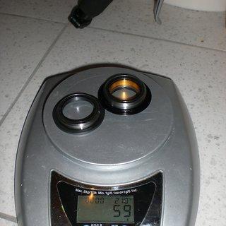 Gewicht FSA Steuersatz Orbit ZS-5 1 1/8 - 1 1/8
