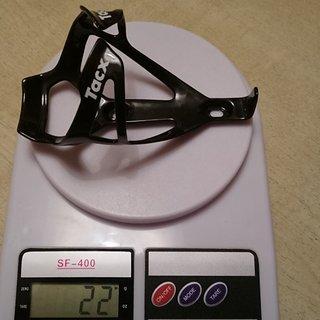 Gewicht Tacx Flaschenhalter T6102 Deva Carbon