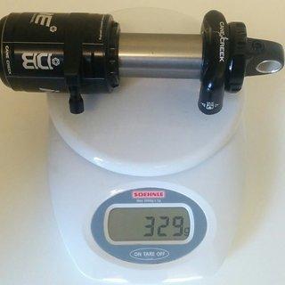 Gewicht Cane Creek Dämpfer DB Inline  190 x 50mm