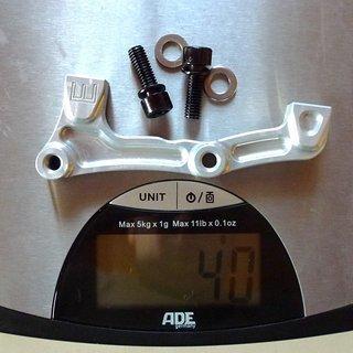 Gewicht Hope Scheibenbremsadapter Adapter E IS >>> PM +43