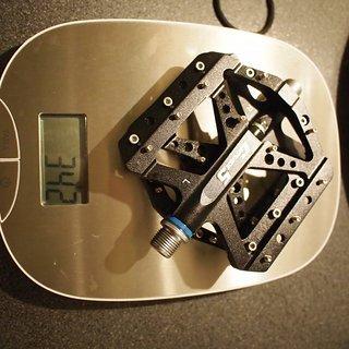 Gewicht Grade5 Pedale (Platform) Type 3
