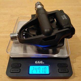 Gewicht Shimano Pedale (Klick) Ultegra PD-R8000