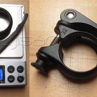 Gewicht Cannondale Sattelklemme Sattelklemme (QR) 31.8mm