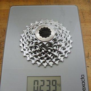 Gewicht SRAM Kassette PG-1070 10-fach, 11-28Z