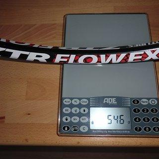 """Gewicht Notubes Felge ZTR Flow EX 29"""", 622x25.5, 36°"""