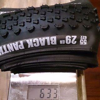Gewicht Vredestein Reifen Black Panther Xtreme 29x2.2