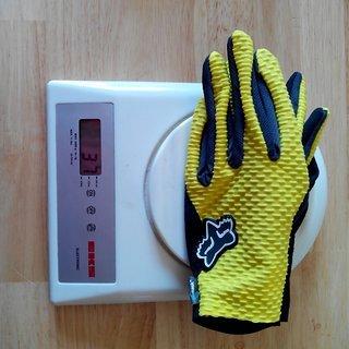 Gewicht Fox Bekleidung Attack Gloves L