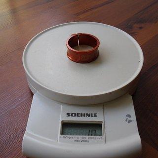 Gewicht Tune Sattelklemme Schraubwürger 34,9mm