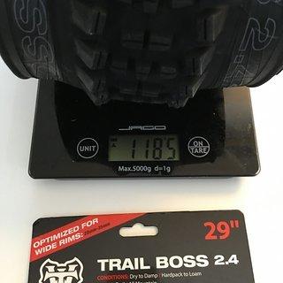 "Gewicht WTB Reifen Trail Boss 2,4 29"""