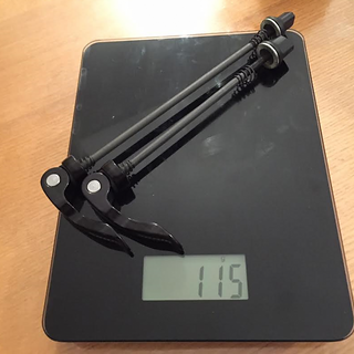 Gewicht SRAM Schnellspanner -