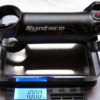 Gewicht Syntace Vorbau Force 99 25.4mm, 90mm, 6°