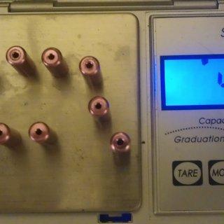 Gewicht Erdmann Innen- und Außenzüge Endhülsen (Alu) 4,5mm, 10x