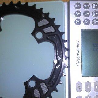 Gewicht Race Face Kettenblatt Turbine 104mm, 42Z