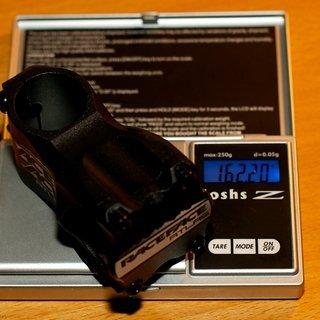Gewicht Race Face Vorbau Atlas AM 31.8mm, 50mm, 8°
