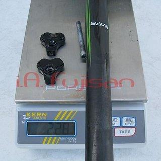 Gewicht Cannondale Sattelstütze Save 27.2 x 400mm