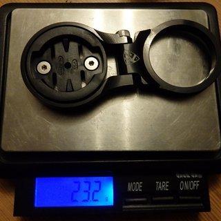 """Gewicht K-Edge Spacer K-Edge Vorbauhalterung f. Garmin Edge 1⅛"""" / 5mm / Länge 50mm"""