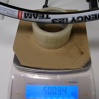 Gewicht WTB Felge Frequenzy i23 TCS 650b, 584x23, 32°