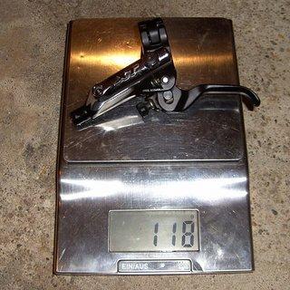 Gewicht Shimano Weiteres/Unsortiertes Deore XT BL-M785 Bremsgriff