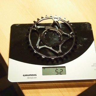 Gewicht absoluteBlack Kettenblatt XX1 Style (Sram/GXP) DM, 32Z