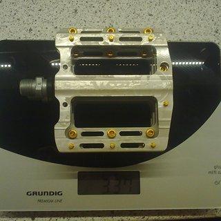Gewicht Sixpack Pedale (Platform) Icon -MG RAW- 100x95x17mm