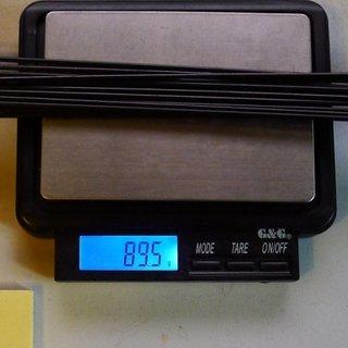 Gewicht Sapim Speiche Race 256mm, 16 Stück