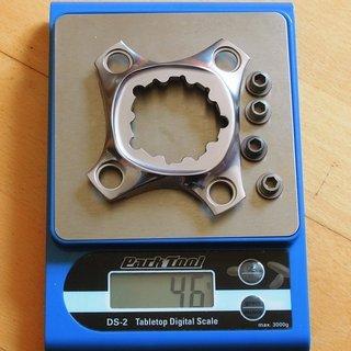 Gewicht SRAM Weiteres/Unsortiertes XX1 Spider GXP