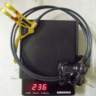 Gewicht Avid Scheibenbremse BB7 MTN S (tuned) HR, 1200mm