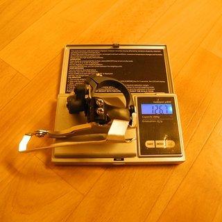 Gewicht Shimano Umwerfer LX FD-M570 34.9mm