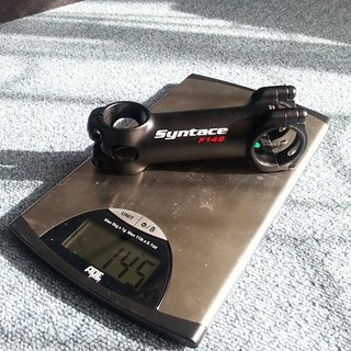 Gewicht Syntace Vorbau Force 149 31.8mm, 100mm, 6°
