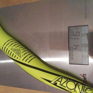 Gewicht Azonic Lenker Agile 780mm