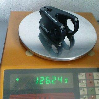 Gewicht Split-Second Racing Vorbau 50 Titan LTD 31.8mm, 50mm, 0°