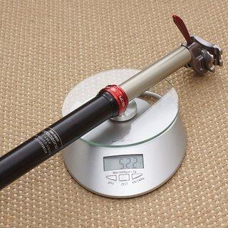 Gewicht Kind Shock Sattelstütze höhenverstellbar Dropzone 31,6 x 385 mm