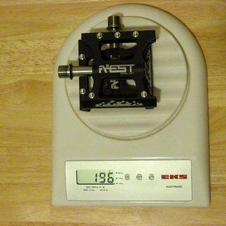 Gewicht Aest Pedale (Platform) YRPD-08T 80x80x17mm
