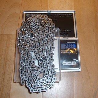 Gewicht Shimano Kette CN-7901 105 Glieder, 10-fach