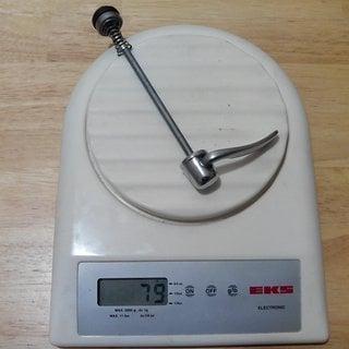 Gewicht Shimano Schnellspanner XTR 900er Reihe 100mm