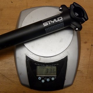 Gewicht Truvativ Sattelstütze Stylo Race 31,6 x 400mm