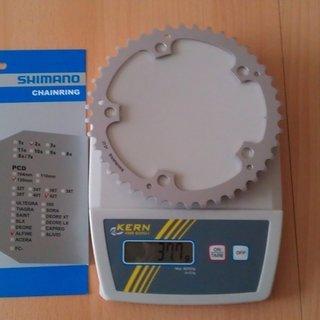 Gewicht Shimano Kettenblatt Alfine FC-S500 / FC-S501 130mm, 42Z